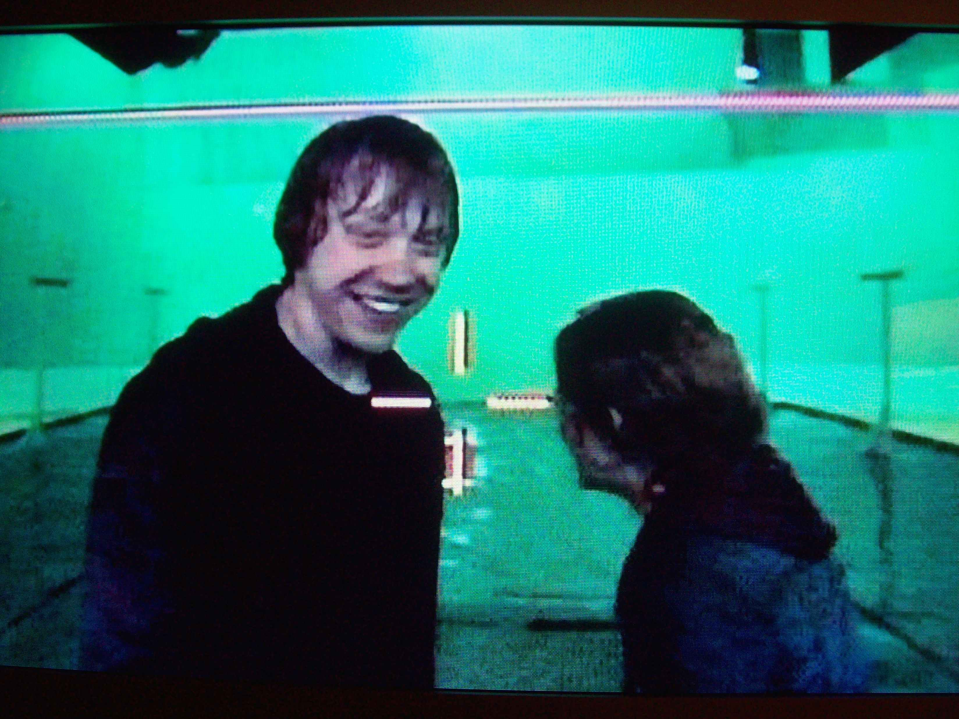Behind the scenes filming of the ron hermione kiss in gof - Hermione granger and harry potter kiss ...