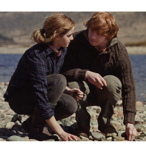 "Ron/Hermione: Gathering Stones by the Lake and ""All's Fair ..."
