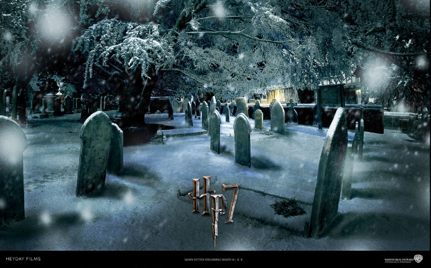 James And Lily Potter Grave Biblical quotations in harry potter the ...