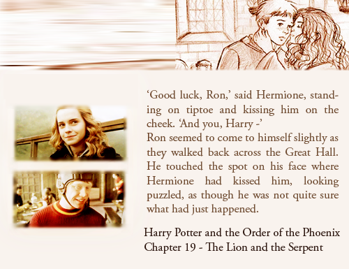 Top 5 ron hermione moments that are not in the films the lord of the hallows - Hermione granger best moments ...