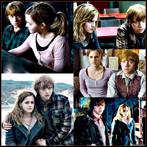Ron hermione made the 10 cute movie couples list the lord of the hallows - Hermione granger best moments ...